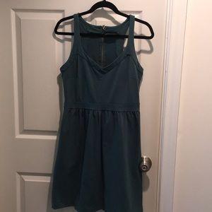 Green summer dress Size L